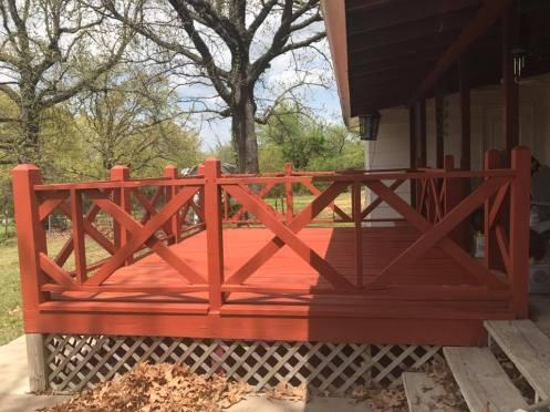 granddad porch after